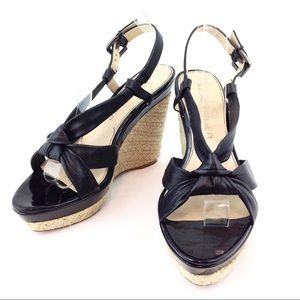 Marc Fisher Jute Wedge Sandals 9.5 - AC04